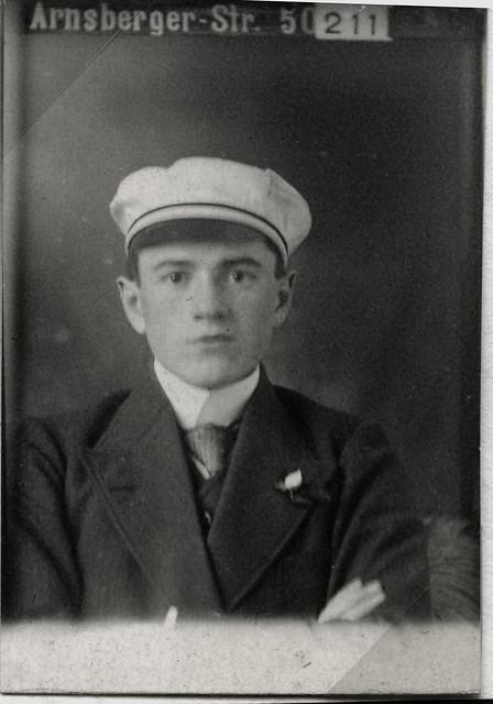 Archiv A74 Primaner Porträt, 1910er