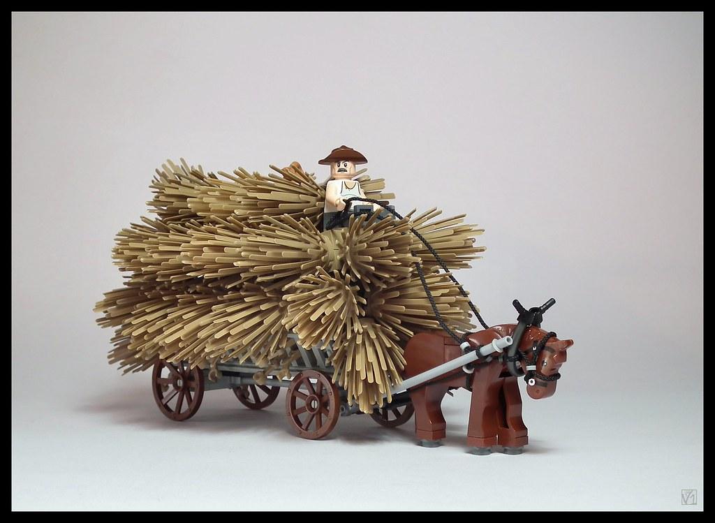 Hay wagon (Poland, XIX-XX c.)