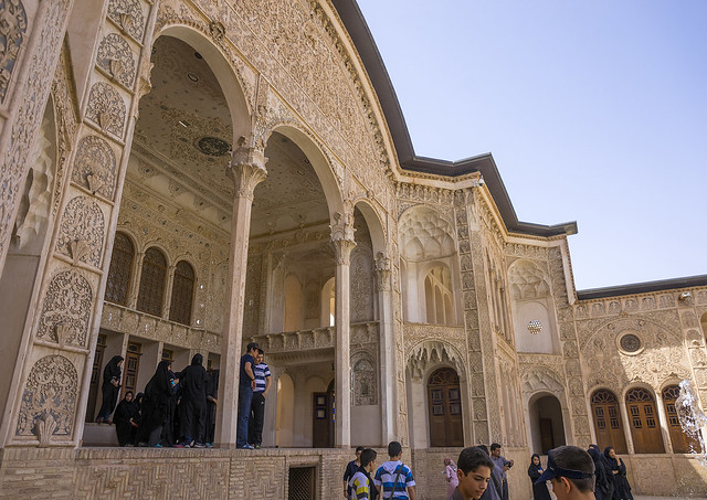 Tabatabaei Historical House, Isfahan Province, Kashan, Iran