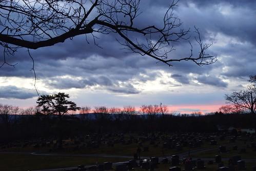 greenhillcemetery berryvillevirginia cemetery sunrise 365the2017edition 3652017 day4365 4jan17