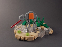 Micro Lego Rogue One AT-ACT