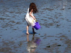 Girl on Sand