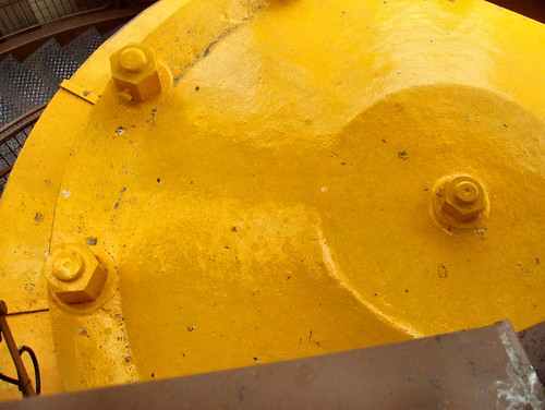 Yellow Pressure Vessel