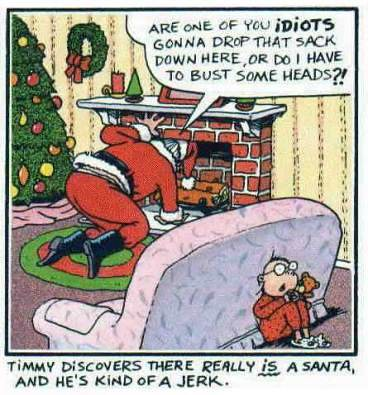 santa's a jerk