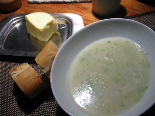 Fennel potato soup