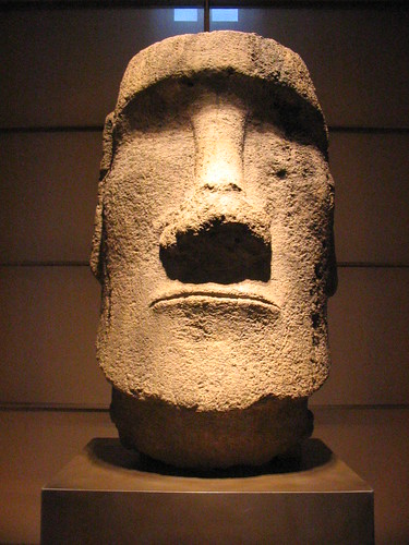 easter island statue | by Sun Spiral
