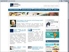 IE Nueva página web