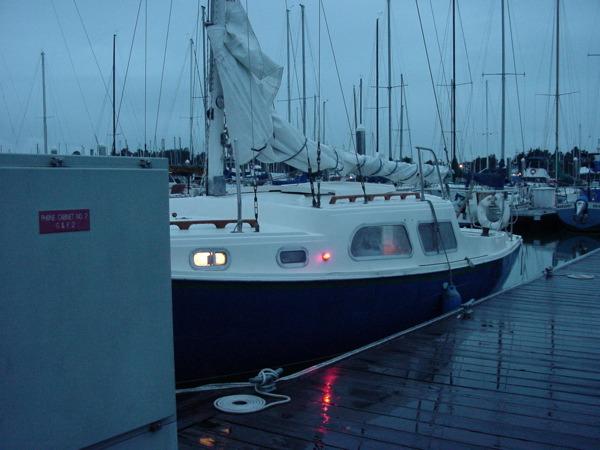 rainy boate