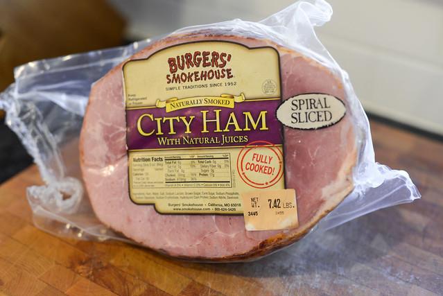 Honey-Orange Glazed Ham