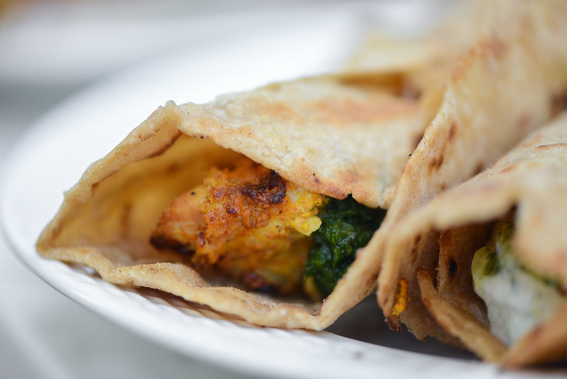 Chicken Tikka Kati Roll