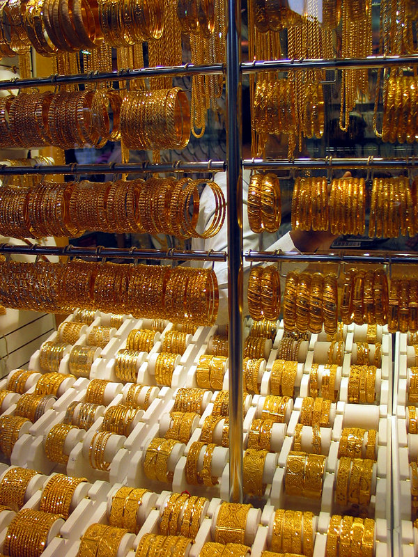 Gold store at Deira souk