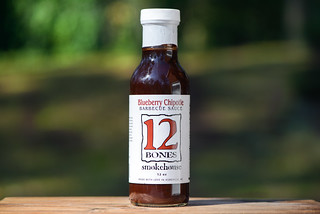 Sauced: 12 Bones Blueberry Chipotle Barbecue Sauce