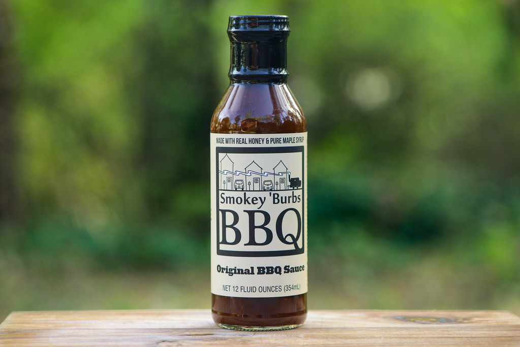 Smokey 'Burbs BBQ Original BBQ Sauce