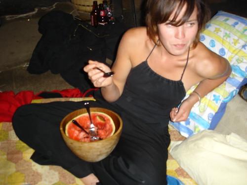 vodka garlic watermelon