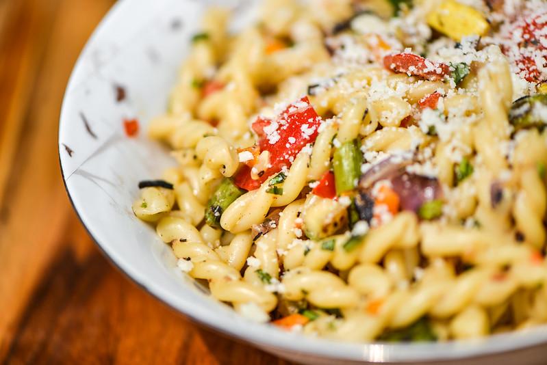 Grilled Pasta Primavera
