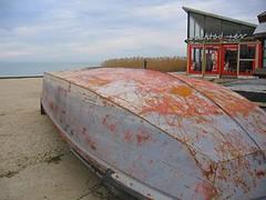 Szantod Ferry Dock boat