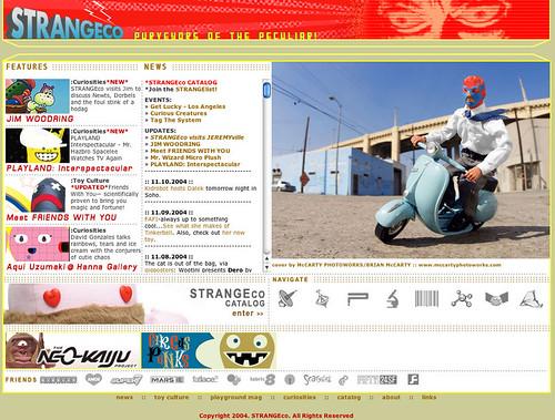STRANGEco homepage