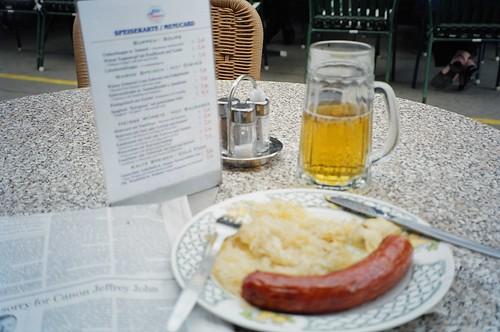 Sauerkraut and beer in Vienna | by PhillipC