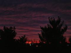 Arlington County sunset