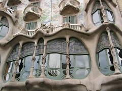 Casa Batlló, by Gaudí