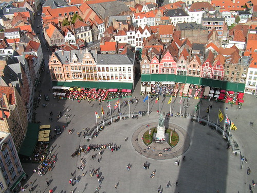 Town Sqaure from Belfry | by David Wilmot