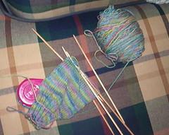 Koigu sock #2