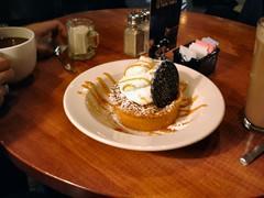 Squared circle: Cinnamon-Apple pie at Cosi