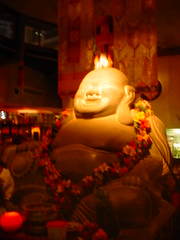 the big Bhudda in the middle of Chinta Ria...