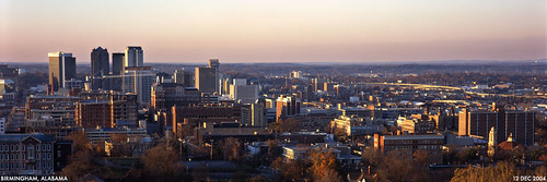 birmingham skyline sunset alabama geolat334929 geolon867945 geotagged redmountain 35205 panorama 21staves