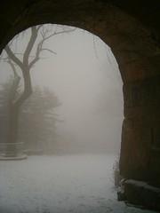 Through the South Gate.