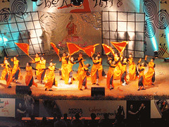 Surprised at the amount of money they spend on costumes and props. Here is a japanese dance