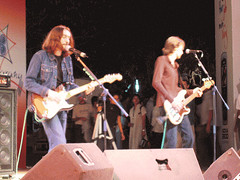 A french band performing. They were the crowd's favorite.