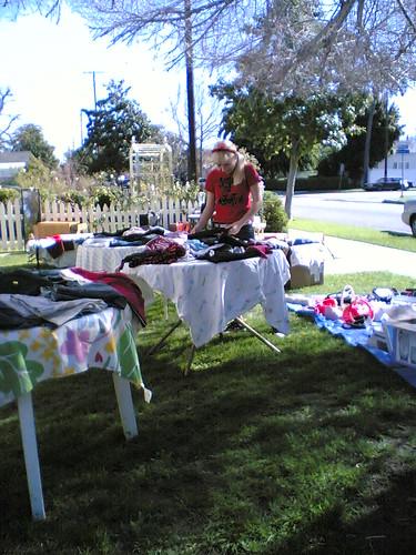 Patti at Matt & April's Yard Sale