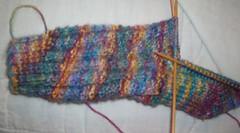 Fluted Banister Sock #1