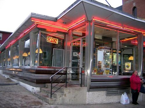 Diner on the corner of 9th & Linden, Allentown PA