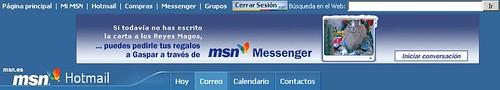 MSN Search en Hotmail