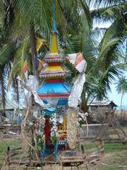 Thai Buddhist structure.
