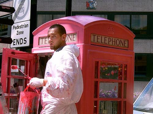 phonebox undercoat