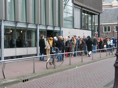 Anne Frank's House Queue | by longplay