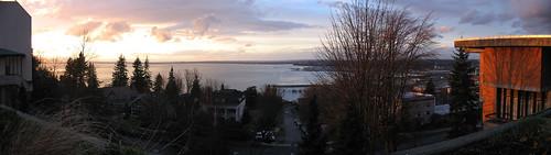 Sunset over Puget Sound, Bellingham, WA