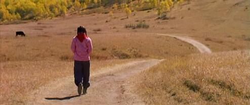 Fotograma de «El camino a casa», de Zhang Yimou