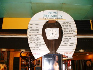 Horseshoe menu, New Piccadilly | by I like