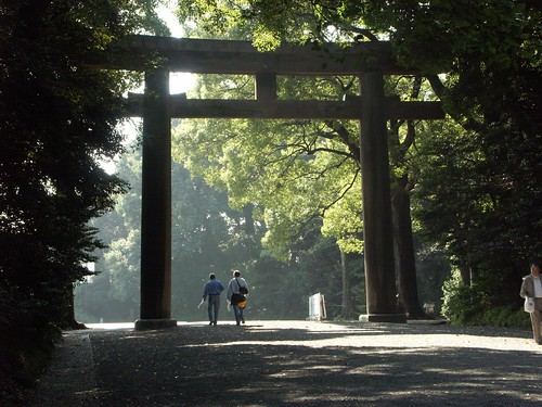 Meiji Jingu Shrine entrance | by georgeogoodman