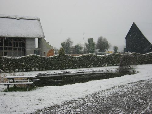 Snow at Gencon