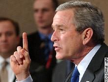 US president Bush