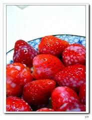 草莓+煉乳
