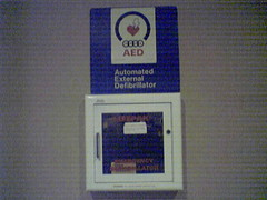 Aed in west palm beach airport