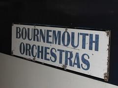 Train name plaque - Bournemouth Orchestras