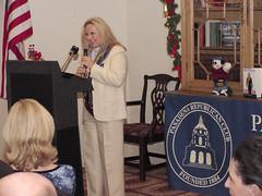 Marcella Sutton tells stories about Elaine