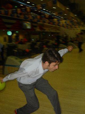 Jamie bowling